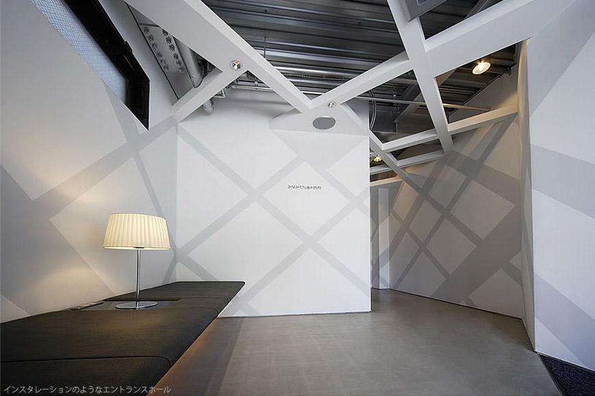 大阪の建築家による歯科医院の設計|歯科クリニックの改装実例|エントランスの待合室