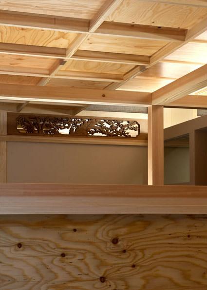 大阪の建築家による歯科医院の設計 歯科クリニックの改装実例 鉄筋コンクリ―ト造の建物の中をリノベーション。既存の障子や欄間を活かした和風の内装。診療室3