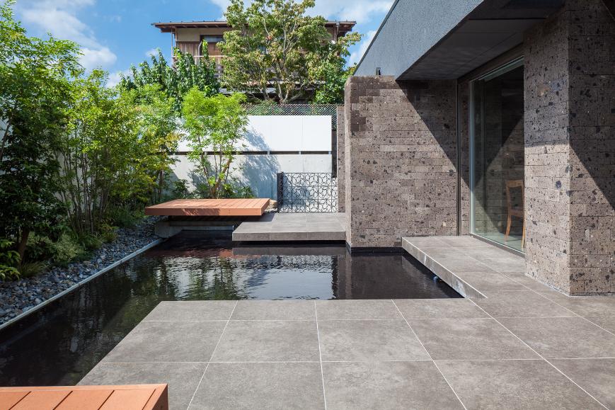 リゾートホテル風住宅|東京と大阪で設計する建築家のリノベーション03