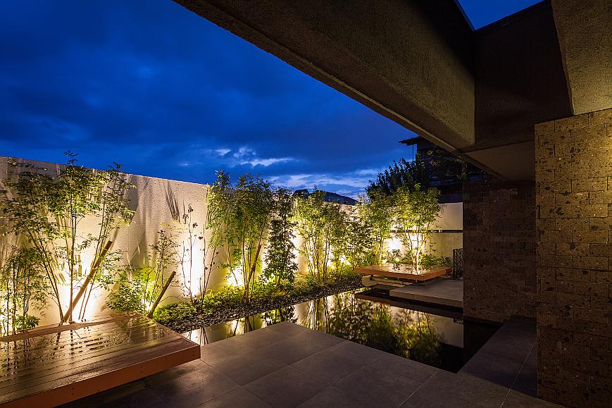 リゾートホテル風住宅|東京と大阪で設計する建築家のリノベーション10